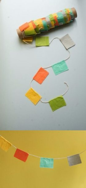 Boda DIY: Banderines decorativos