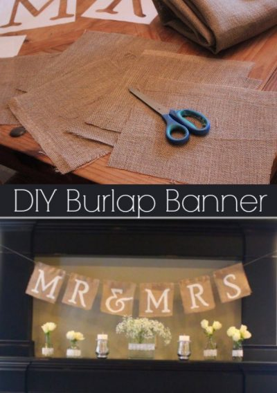 Banderín DIY decorativo